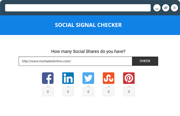 Social Signal Checker
