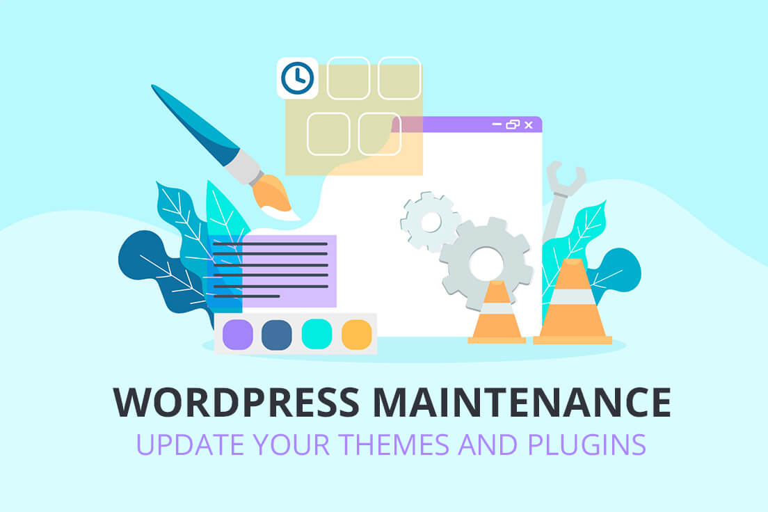 Update your WordPress themes and Plugins